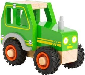 Tractor din lemn pentru copii Legler Tractor