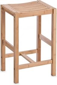 Scaunel maro din lemn de bambus Bamboo Zeller
