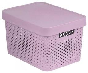 Cutie de depozitare Curver Infinity 17 l, roz