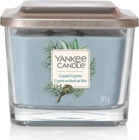 Yankee Candle lumanare parfumata Elevation Coastal Cypress pătrata mijlocie 3 fitile