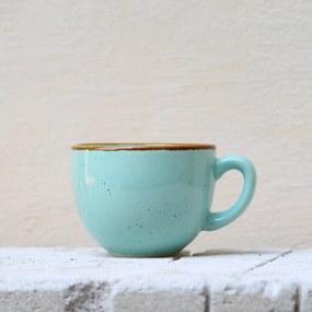 Ceasca Gardena din ceramica turcoaz 7 cm