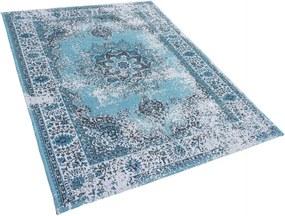 Covor vintage Almus, albastru, 140 x 200 cm