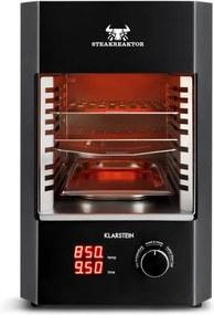 Klarstein Steakreaktor 2.0, 1600 W, grill electric pentru domiciliu, 850 °C, cu radiatii infrarosii