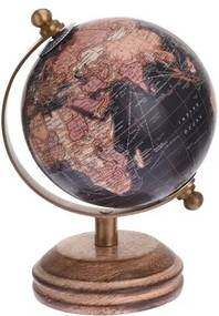 Glob metalic Koopman, negru, diam. 7,5 cm