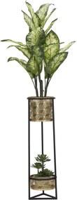 Vaza pentru flori Duppio Glam Ø23x80 cm