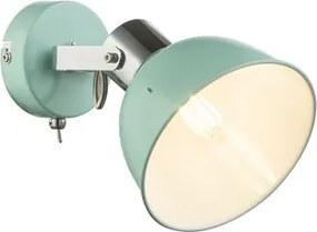 Aplica tip spot 1xE14 verde menta Roli Globo Lighting 54641-1