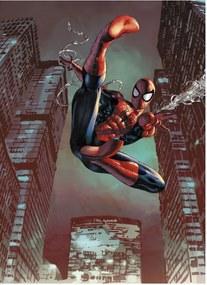 Fototapet Spiderman pentru camera baieti - Man Jump