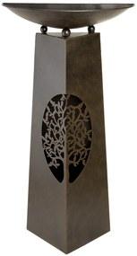 Suport flori TREE, metal, 102x25x50 cm