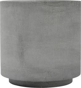 Masuta Cafea cu Aspect de Beton FIFTY - Beton Gri L-diametru(50cm) x inaltime(50cm)