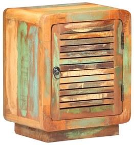 320463 vidaXL Noptieră, 40 x 30 x 50 cm, lemn masiv reciclat