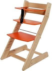 Scaun reglabil pe inaltime pentru copii – Unize portocaliu