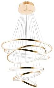 Azzardo AZ2921 - Lustră LED pe cablu dimmabilă WHEEL 6xLED/140W/230V