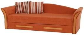 Coltar textil portocaliu/arin PATRYK