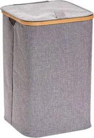 Cos de rufe Zeller, 33 x 33 x 50 cm, Gri/Bej