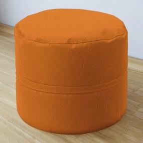 Goldea taburet din bumbac 50x40 cm - portocaliu 50 x 40 cm