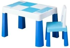 Tega - Set masuta cu scaun  Lego Multifun Albastru