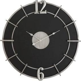 Ceas de perete Mauro Ferretti Glam, ø 60 cm, negru