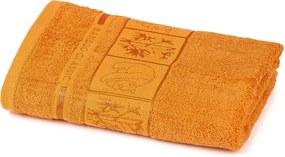 4Home Prosop Bamboo Premium portocaliu, 50 x 100 cm