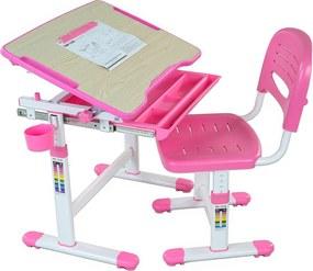 Masă de scris + scaun Bambino pentru copii-diferite culori gri