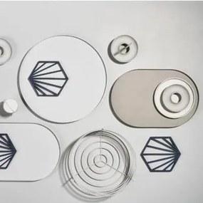 Cos Rotund Mint pentru Paine Sea Salt - Bumbac Mint Diametru(25.5 cm) x Inaltime(8 cm)