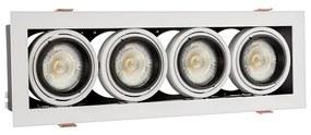 Corp de iluminat tavan fals MODERN DAY MINI 4xGU10/10W/230V