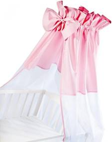Baldachin universal pentru patut roz