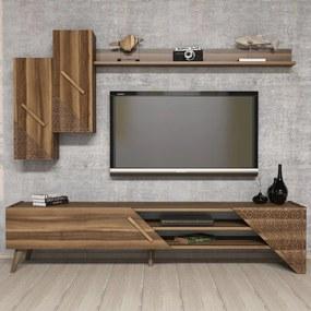 Comoda Tv Beril cu Raft - Nuc