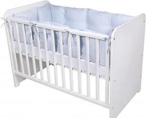 Lorelli - Set protectii laterale pentru pat 4 piese, 60 x 120 cm, Blue