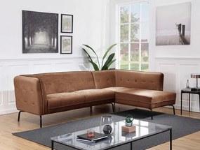 Coltar Atlantic Home Affaire, 270 x 80 x 80 cm, catifea, maro