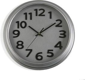 Ceas de perete Versa In Time, ⌀ 32,7 cm, gri