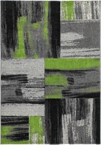 Covor Patchwork Pavia, Verde, 80x150