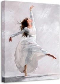 Tablou Styler Canvas Waterdance Dancer I, 60 x 80 cm