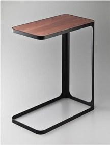 Măsuță pentru laptop / auxiliară YAMAZAKI Frame, negru
