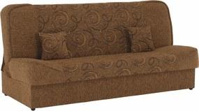 Colţar extensibil, material textil auriu/model, ASIA NEW