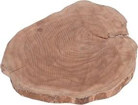 Platou Tree din lemn maro 31 cm