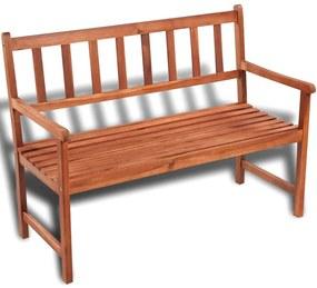 41448 vidaXL Bancă de grădină, 120 cm, lemn masiv de acacia