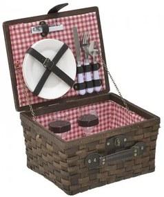 Cos picnic Brown 2 persoane