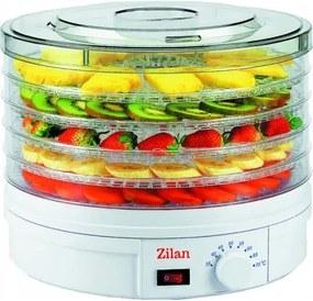 Deshidrator alimente ZILAN ZLN-9645, 5 nivele, putere 245W ZLN-9645