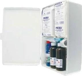 Trusa sanitara de prim ajutor nedetasabila, pentru fixare pe perete, avizata MS