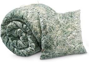 Lenjerie de pat de o persoană, din amestec de bumbac Foonka Seno, 140 x 200 cm