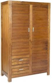 Dulap maro din lemn 188 cm Ohio Santiago Pons