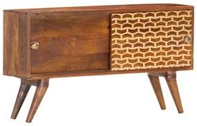286302 vidaXL Servantă, maro miere, 88 x 24 x 50 cm, lemn masiv de mango