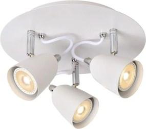 Lucide 26956/15/31 - Lampa spot LED RIDE-LED 3xGU10/5W/230V alba