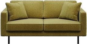 Canapea cu 2 locuri MESONICA Kobo, verde măsliniu