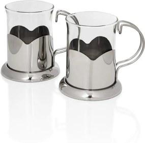 Set 2 căni Sabichi Glass, 220 ml
