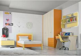 Dormitor complet Complete bedroom Eresem C101 Colombini Casa modern and colorful