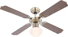 GLOBO 0309 - Ventilator CHAMPION 1xE27/60W/230V