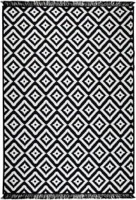 Covor reversibil Cihan Bilisim Tekstil Helen, 120 x 180 cm, alb-negru