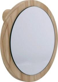 Oglinda Natura, Lemn de Pin, Ø18 cm