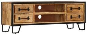 247343 vidaXL Comodă TV cu sertare, 120 x 30 x 40 cm, lemn masiv de mango